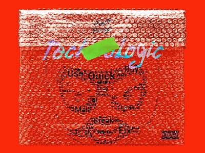 Technologic - Daft Punk / CD pack cd design cd cover photoshop illustration design