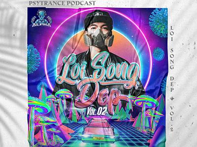 Beautiful Lifestyle - Psytrance mixtape artwork cd cover cd design illustration photoshop design mixtape artwork