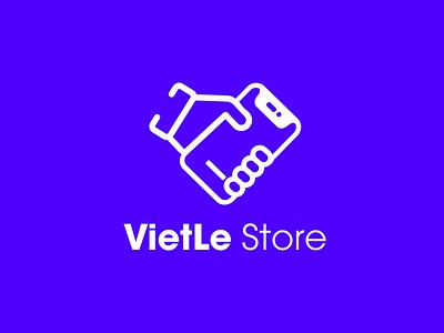 VietLe Store vector logodesign photoshop illustration logo design