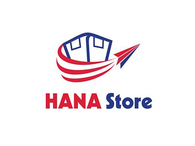 HANA Store brand identity logo branding logodesign photoshop illustration design