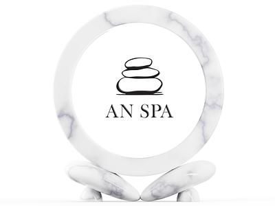 AN Spa vector branding brand identity logo logodesign illustration design
