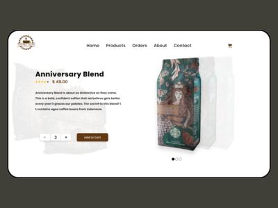 Landing Page frontend adobe design adobe xd 003 dailyui