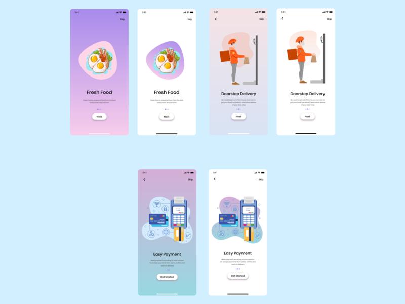 Onboarding DailyUI 023 app app design ui ux frontend ux adobe xd adobe design ui daily 100 challenge dailyui