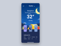 Weather DailyUI 037 app app design ui ux frontend design adobe xd adobe ux daily 100 challenge ui 037 dailyui