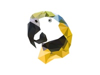 Parrot Lowpoly
