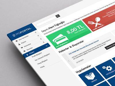 Portal / Dashboard Design