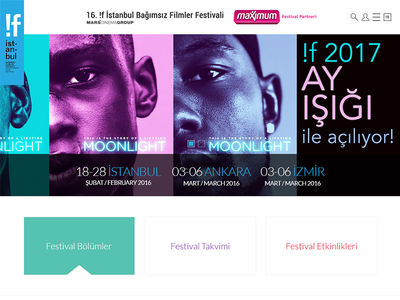 !f istanbul 2017 web design