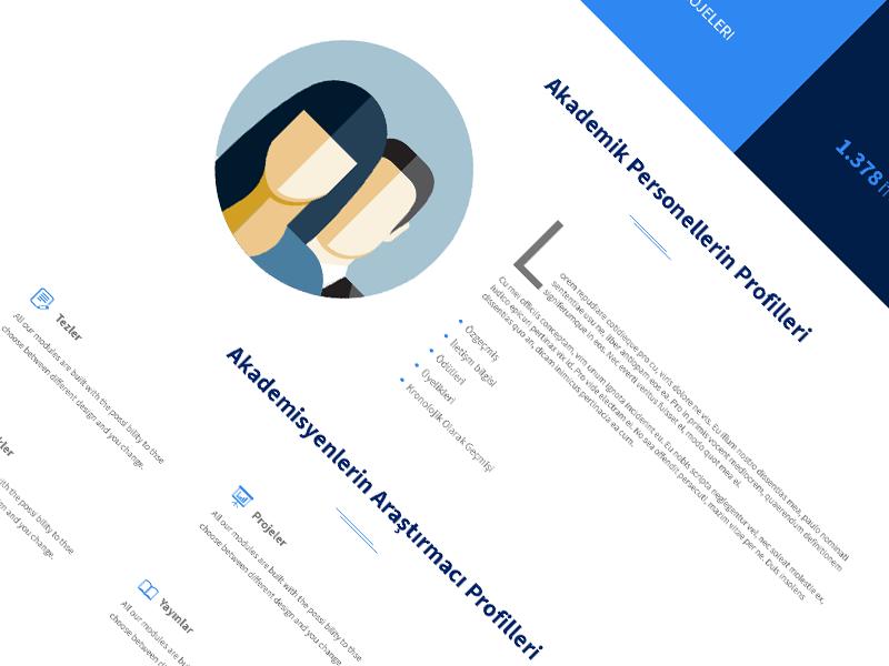 Landing Page responsive flat minimal ui web landingpage