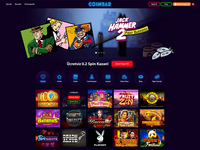 Crypto Casino web design