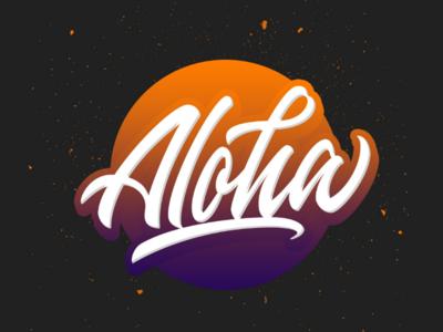 Aloha~