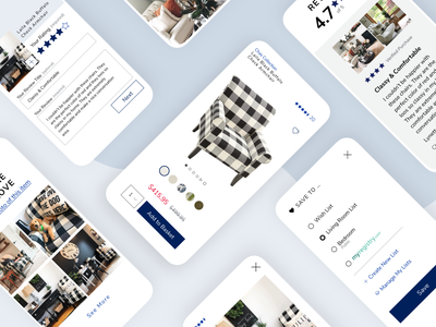 Pier 1 Mobile Product Page retail pier 1 ux ui interface product design product page e-commerce ecommerce