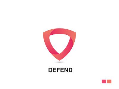 defend creative design creative logo secure security system security app typography logo design logo logotype branding minimal brand identity wordmark creative security defend