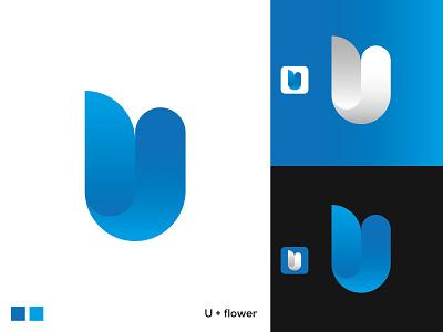 U LOGO /FLOWER LOGO logos logopassion logobrand logoconcept creative graphicdesign brand identity minimal logodesign logoplace logonew logoinspirations logodesigner logotype logo logo design