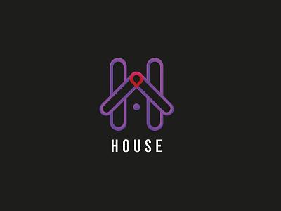 House logo dribble minimal 99design logobrand logoinspirations logodesign creative logo design brand identity houselogo branding logo