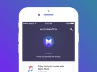 Musixmatch app clone