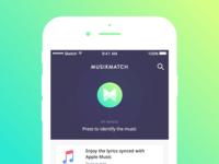Musixmatch app clone Green version