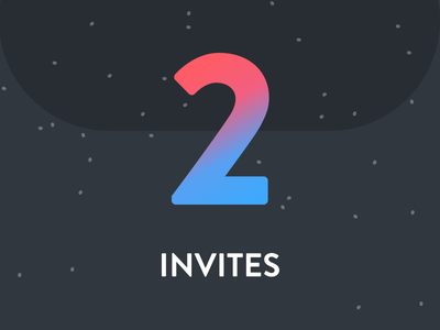 Invites to giveaway colors new drafts invites