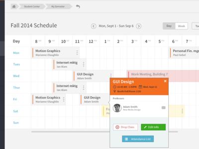 RIT SIS sytem schedule