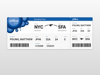 Day 024 - Boarding Pass