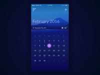 Day - 038 Calendar