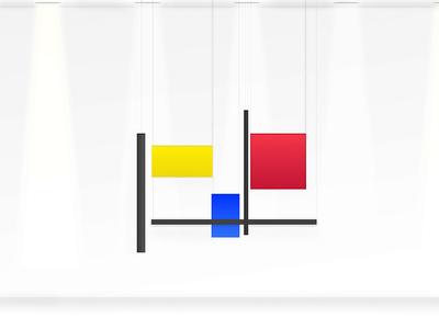 Hanging Mondrian