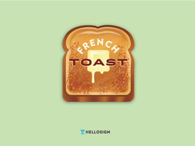 French Toast Release illustration butter toast french