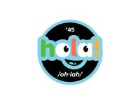 Hola Sticker