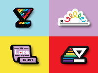 HelloSign Pride Stickers