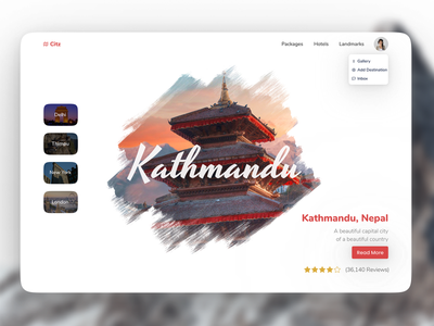 Kathmandu clean ui simple clean interface mystical nepali design designing nepali nepal kathmandu simple typography ux clean minimal modern design web ui
