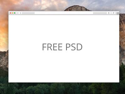 Free Safari Window PSD!  psd web design free jellyjar