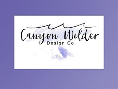 Canyon Wilder Branding
