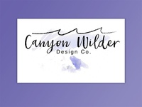 Canyon Wilder Branding