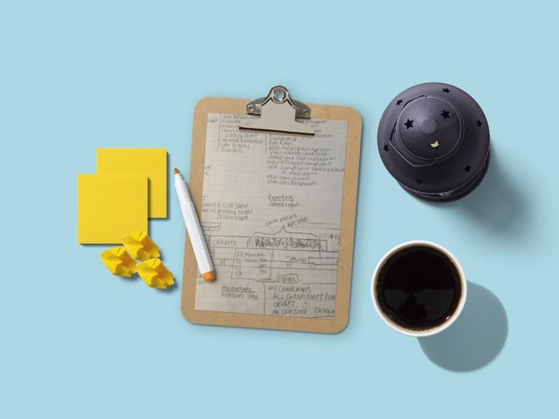 Platform Enhancements sketching brainstorming user experience design software as a service