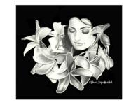 """Whorls"" Flower Petal Princess"