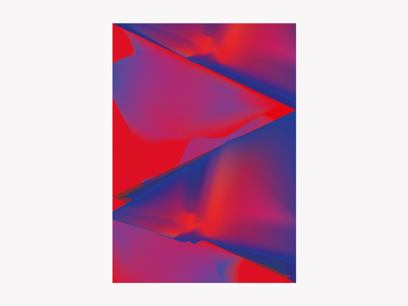 Abstract abstract poster