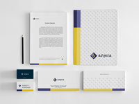 Anjera | Corporate stationery