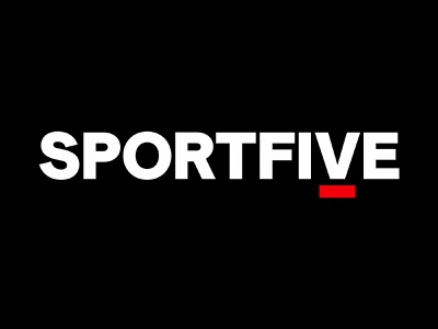 SportsFive visual identity design typography logo branding creative director