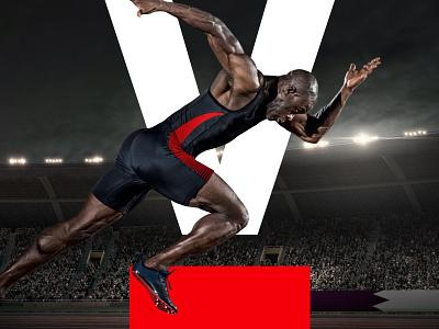 SportsFive visual identity typography experience design branding creative director
