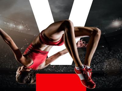 SportsFive visual identity design typography vector branding logo website creative director