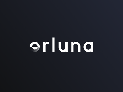 Orluna typography illustration design logo branding creative director
