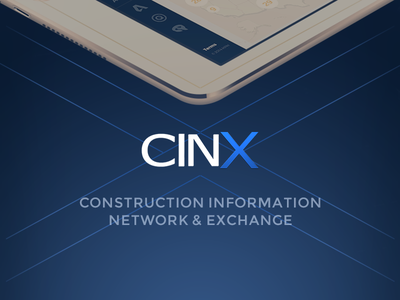 CINX Case Study dashboard ipad ui ux interface interaction design visual design ios tablet responsive construction creative direction