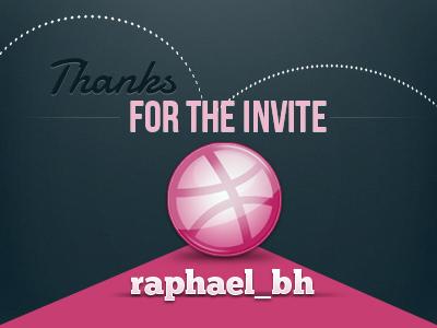 Thanks for the Invitation invitation thanks dribbble invite
