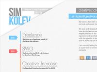 2012 CV/Resume