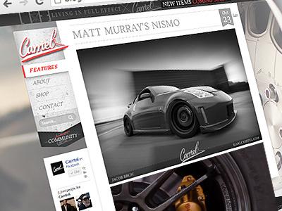 Carrtel Blog carrtel blog design wordpress web design automotive car blog