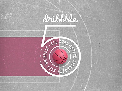 Dribbble x5 Invites Giveaway invite invitation dribbble giveaway