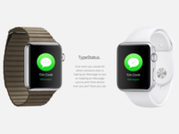 TypeStatus for Apple Watch
