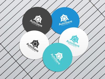 AutoSave Logo Design