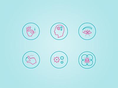 Custom Icon Set - Toys for tweens skills tweens girls stroke arrow 2 colors custom icons