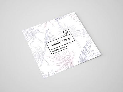 Flyer for a medical esthetician square price list lavender lilac professional feminine pastels spot uv soft print flyer