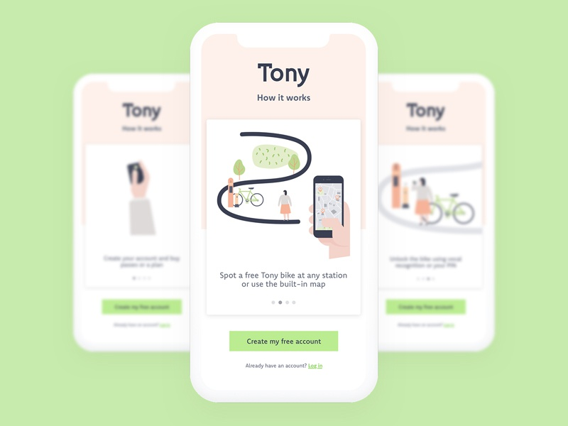 Tony welcome walkthrough dribbble 1x